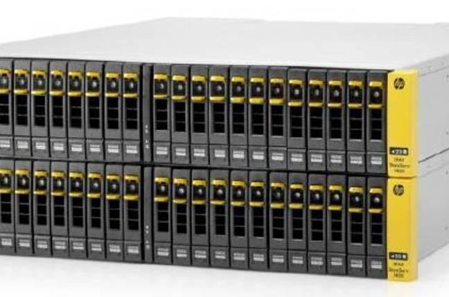The HP 3PAR StorServ 7000 series arrays