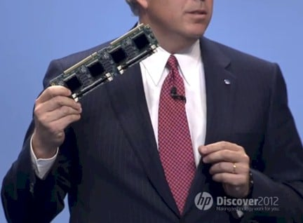 Dave Donatelli holding a Moonshot server