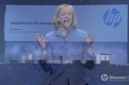 HP CEO Meg Whitman at Discover 2012