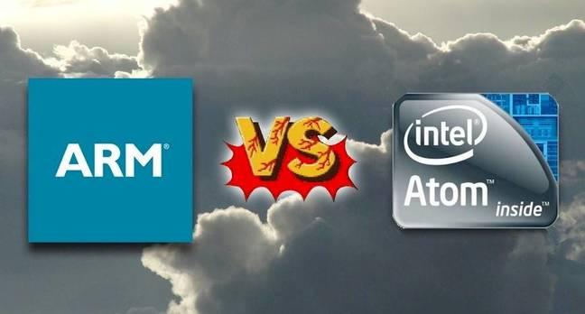 ARM versus Atom