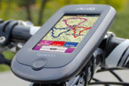 Mio Cyclo 300 bike satnav