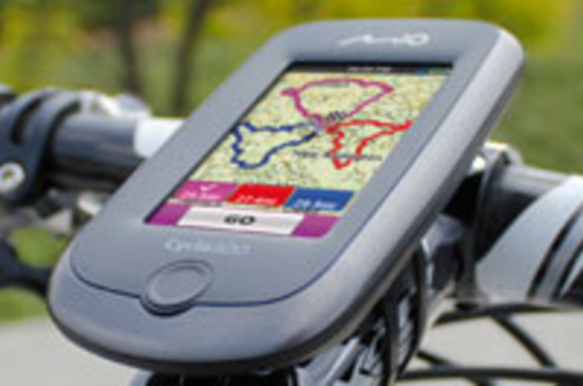 Mio Cyclo 300 bike satnav