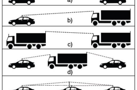 Schemes for tall vehicle relay testing