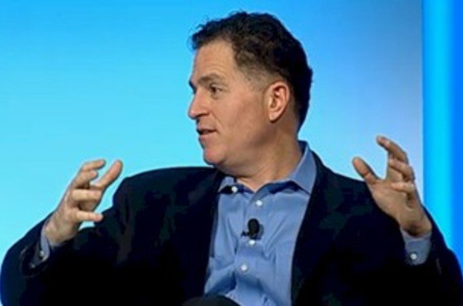 Dell chairman and CEO, Michael Dell