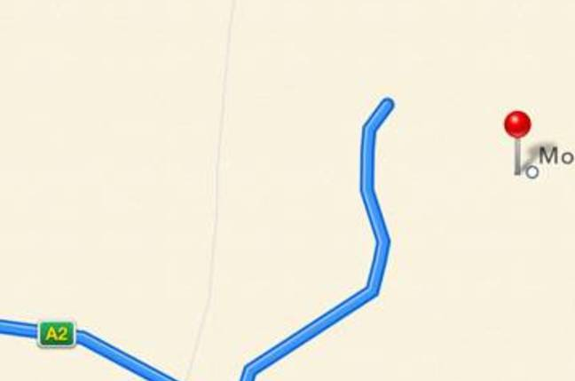 Apple maps offers this route from Darwin to Mount Isa