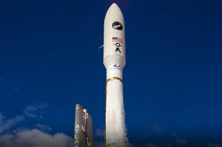 X-37B launches from Cape Canaveral