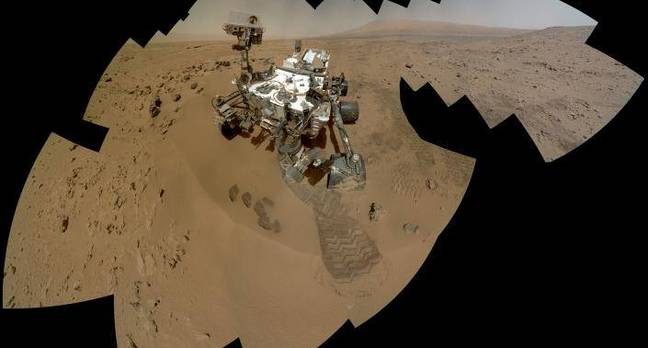 NASA reveals secrets of Curiosity's selfies • The Register