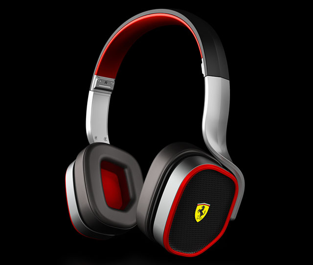 Ferrari by Logic3 Scuderia Collection R200 headphones
