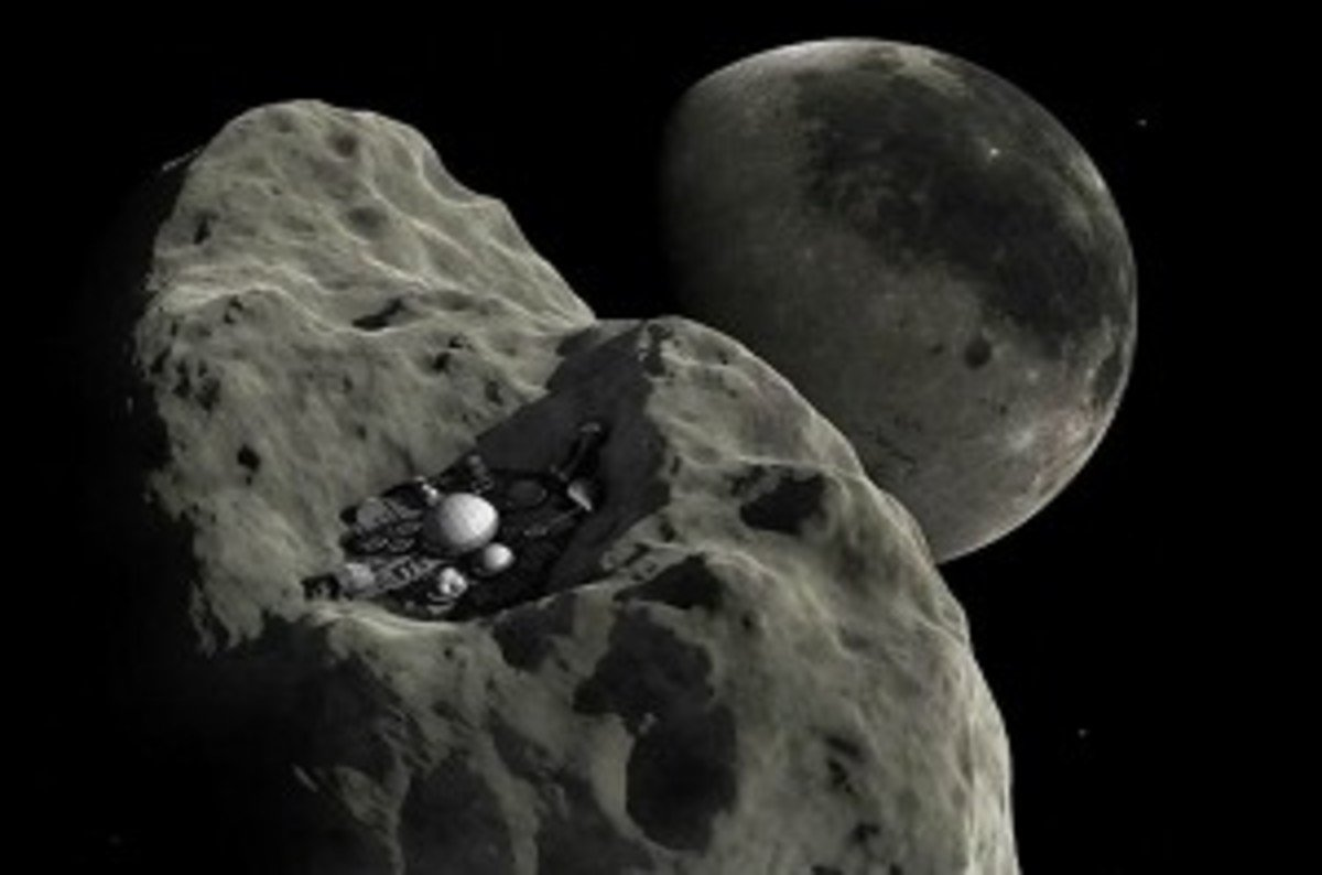 Asteroid mining and a post-scarcity economy • The Register