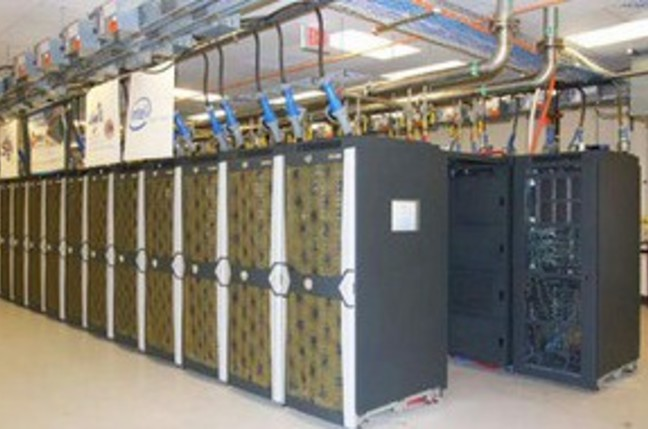 New Mexico's Encanto supercomputer