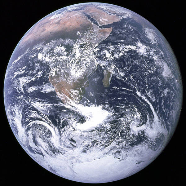 NASA 'Blue Marble' image of Earth taken on December 7, 1972, by the crew of the Apollo 17 spacecraft