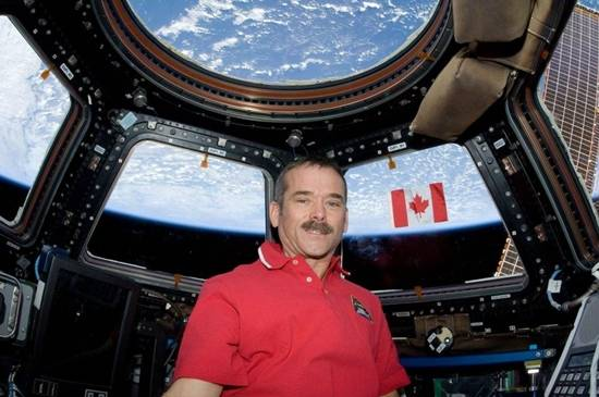 ISS Red shirt