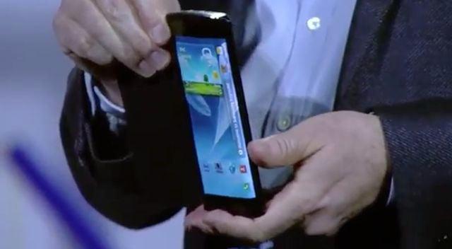 Samsung flexible OLED