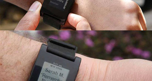 Pebble Pebble E Ink watch