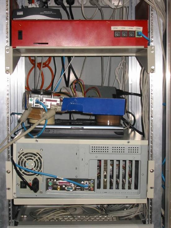 Pirate Bay first server rack
