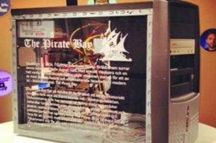 Pirate Bay server