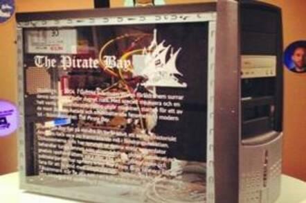 Pirate Bay server