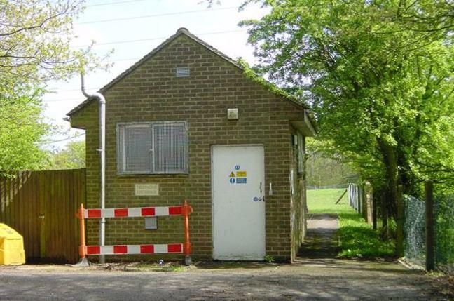 BT Wormshill Telephone exchange