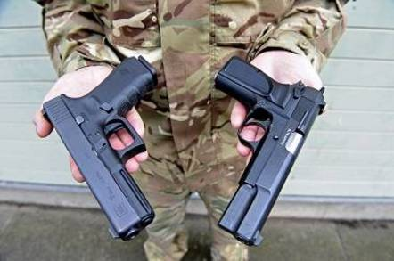 British armed forces get first new pistol since World War II