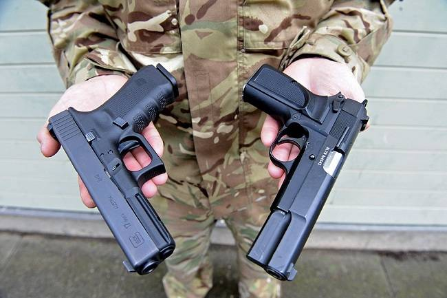 British Armed Forces Get First New Pistol Since World War