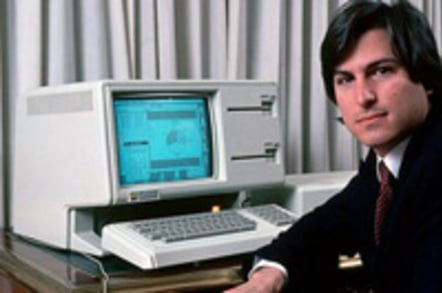 Steve Jobs and the Apple Lisa