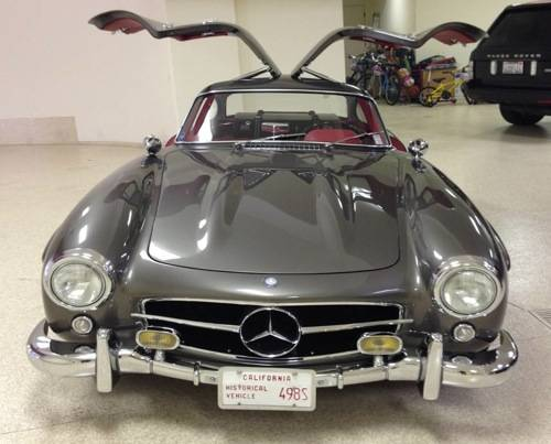 Mark Moshayedi gull-wing Mercedes