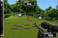 Screengrab of NRA: Practice Range, an iPad app