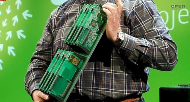 The Group Hug microserver backplane from Open Compute