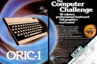 Oric-1 advert
