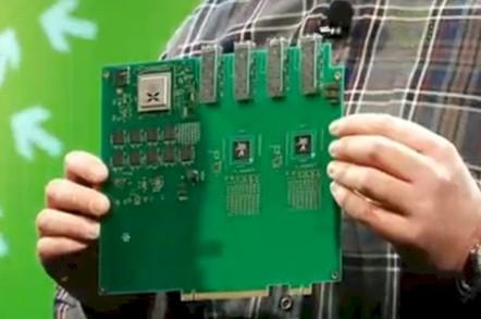 A Calxeda ARM server node for the Open Vault JBOD