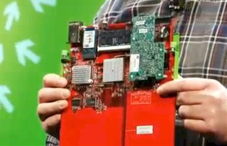 An Intel atom server node for open vault