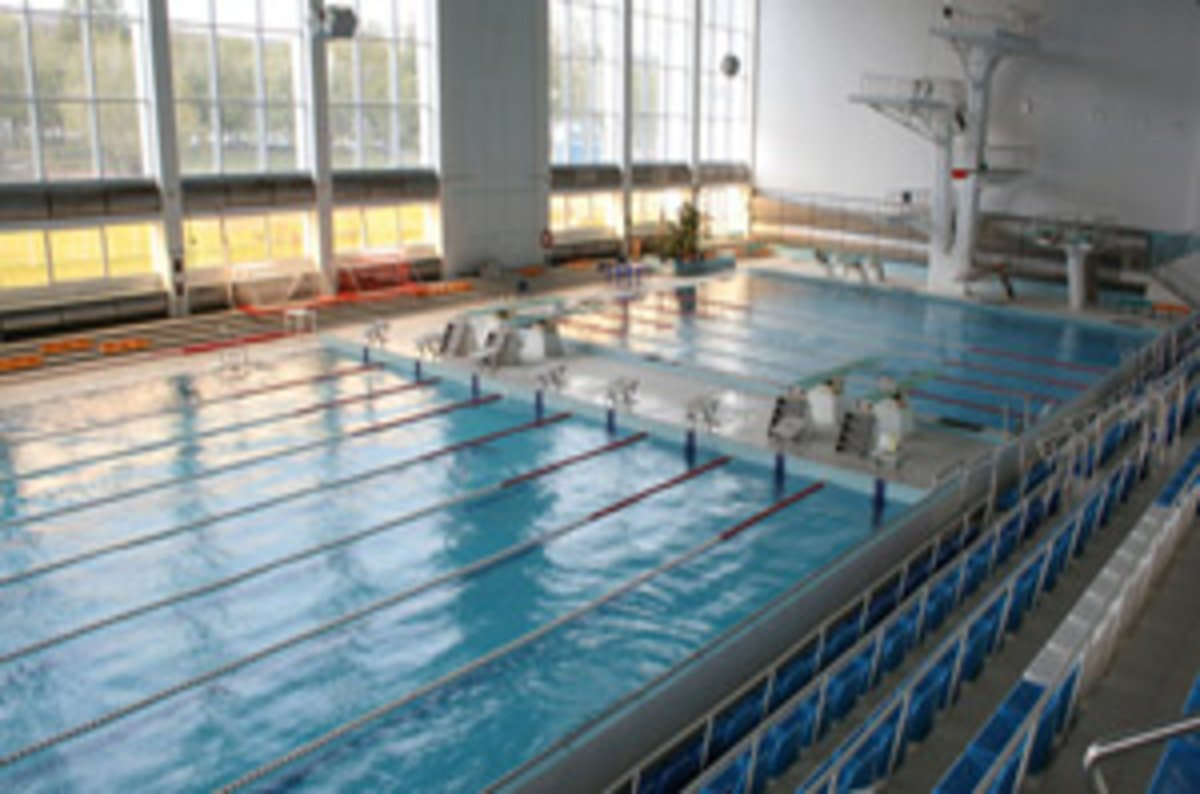 San gang at nimble jump in fibre channel pool but how big - Swimming pool industry statistics ...