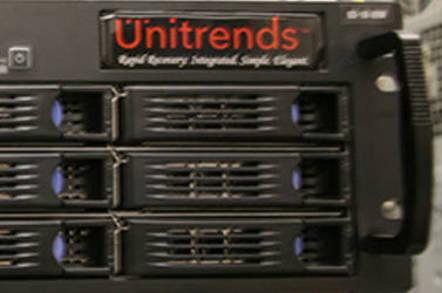 Unitrends Appliance Index Image