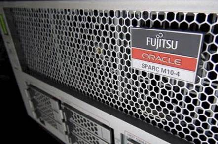 Fujitsu-Oracle Athena server logo