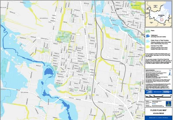 PDF view of Brisbane Flood maps