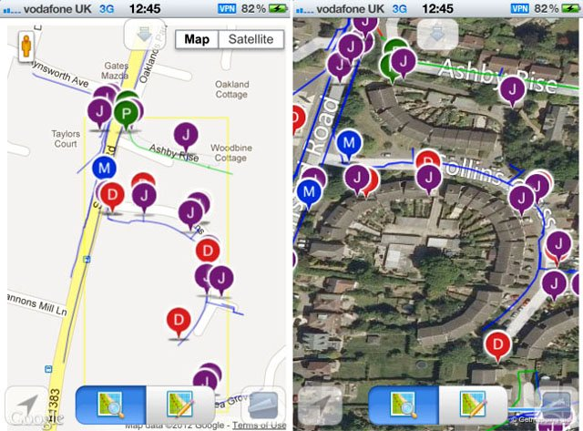BT Openreach Plant Mapping apps