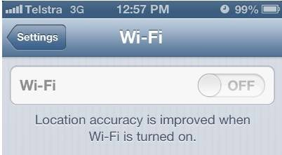 iphone 4s wifi greyed out yay for ios 6 1 grey wi fi iphone bug is fix aww snap 7096