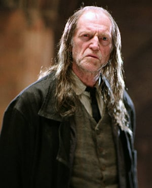 David Bradley as Filch in Harry Potter