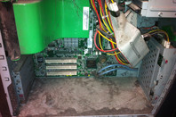 A rather dusty old Dell, pictured by Tim Massey
