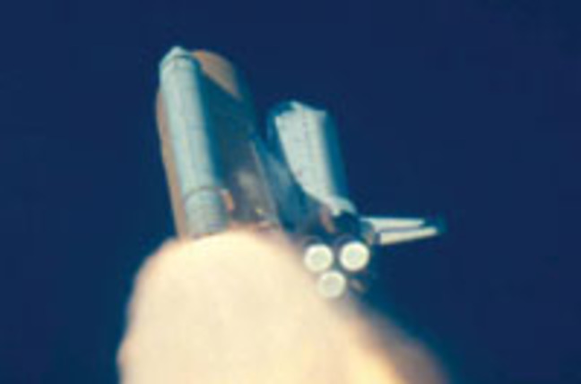 Space Shuttle Columbia Disaster Debri - Pics about space