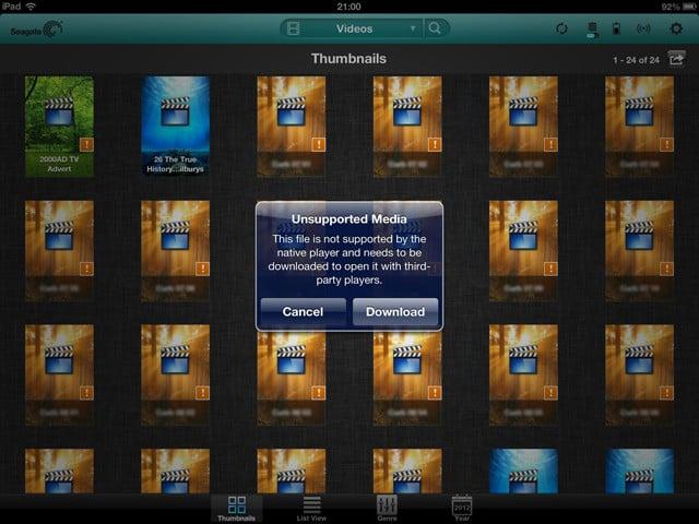 Seagate Media app