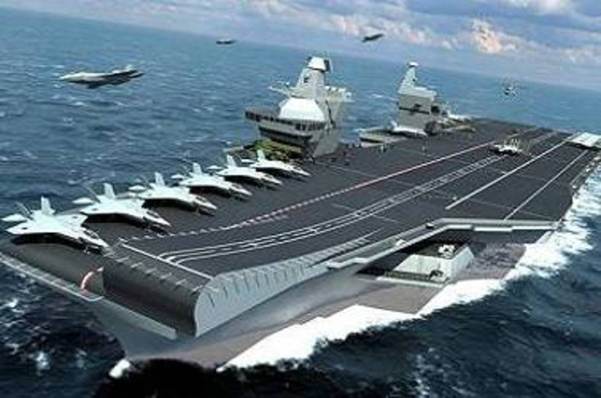 The truth on the Navy carrier debacle? Industry got away ...