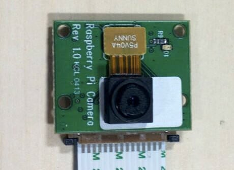 The forthcoming camera module for the Raspberry Pi