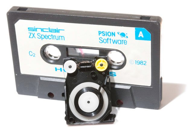 Sinclair ZX Microdrive cartridge