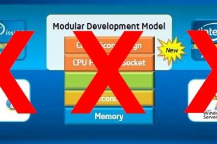 Intel has de-converged the Itanium and Xeon roadmaps