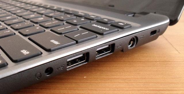 Chromebooks: Acer's ports 2