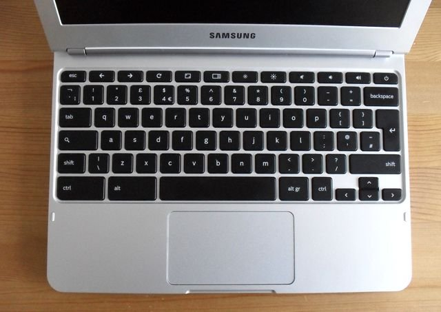 Chromebooks: Samsung keyboard