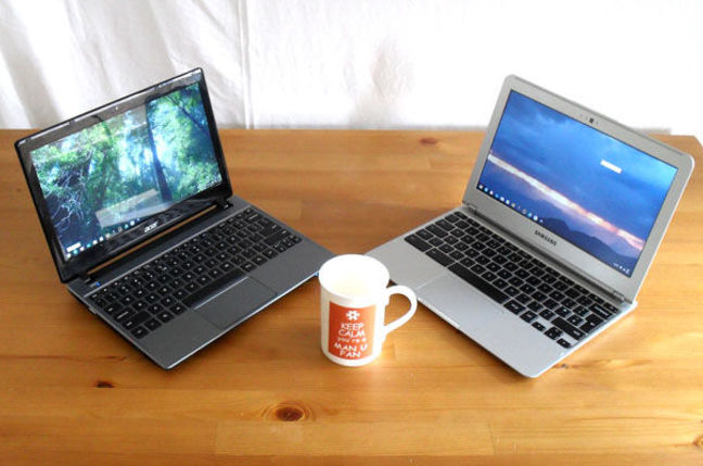 Chromebooks: Acer vs Samsung