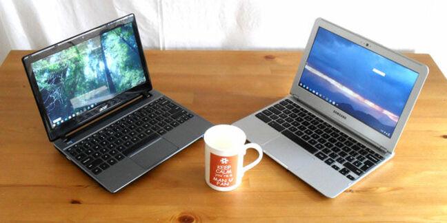 Chromebooks: Acer vs Samsung