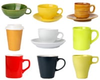 A selection of mugs and cups